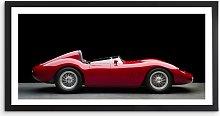 Maserati 250S Fantuzzi - Classic Car Framed Print