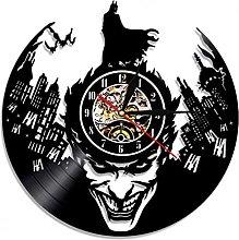 MASERTT Inspired Vinyl Record Clock For Boys