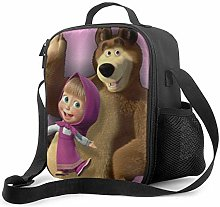 Masha and The Bear 6 Insulated Lunch Bag Large