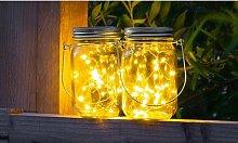 Mason Jar Lights: Eight