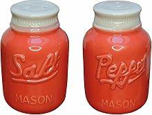 Mason Jar SP Shakers - Coral
