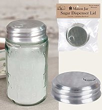 Mason Jar Sugar/Salt/Spice Dispenser Lid