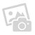 Massage Recliner with Footrest Cream Suede-touch
