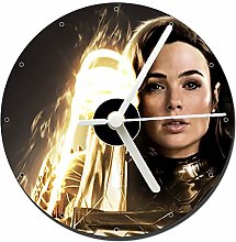 MasTazas Wonder Woman 1984 Gal Gadot D CD Clock