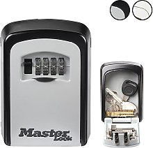 Master Lock 8cm Mounted Key Safe with Combination