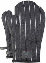 MasterChef 525529 Set of 2 Oven Gloves, 100%