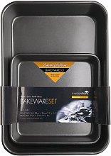 MasterClass KCMCHBSET2 Bakeware Set with Deep