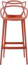 Masters Bar chair - H 75 cm - Polypropylen by