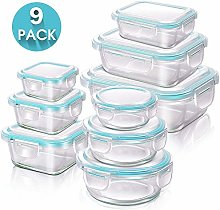 MASTERTOP Glass Food Storage Containers with