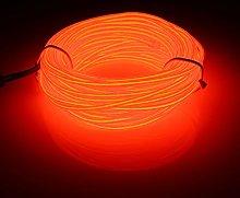 MASUNN 10M EL Led Flexible Soft Tube Wire Neon