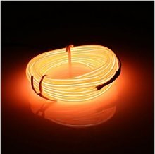MASUNN 5M EL Led Flexible Soft Tube Wire Neon Glow
