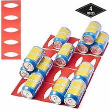 MATANA 4 Pack Easy Bottle Can Stacker, Silicone -