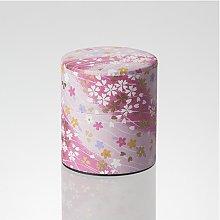 Matcha Tea Can : Chiyogami Washi Paper - 2 color