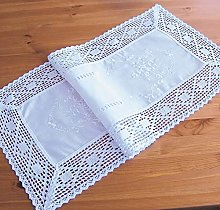 matches21 Table Runner Table Linen White with