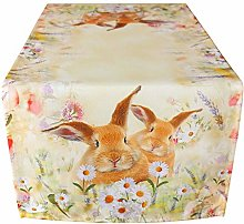 matches21 Table Runner / Table Topper Easter Bunny