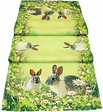 matches21 Table Runner / Table Topper Rabbit