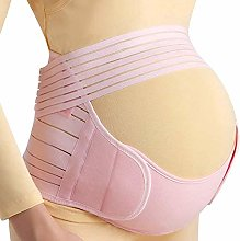 Ceinture de maternité en coton avec soutien du dos
