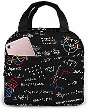 Math Lesson Lunch Bag Reusable Lunch Box Lunch