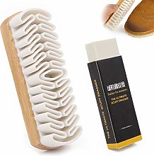 Matte Suede Leather Cleaning Shoe Brush