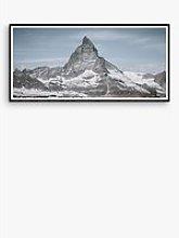 Matterhorn - Framed Print & Mount, 56 x 101.5cm,