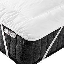Mattress Bed Topper Microfibre EU King Size 5ft3