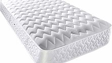 Mattress Haven wavy quilted Open Sprung memory