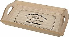 Maturi General Store Wooden Serving Tray with