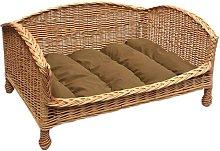 Maud Cat Basket Bed Settee Archie & Oscar Size: