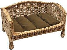 Maud Cat Basket Bed Settee Archie & Oscar