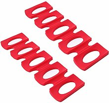 MAXGOODS 2 Pack Silicone Can Beer Easy Stacker