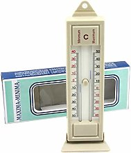 Maximum & Minimum Thermometer Indoor Outdoor
