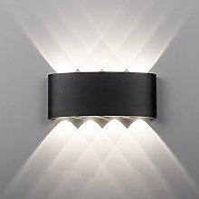 Maxmer 8W Modern LED Wall Light Sconce IP68