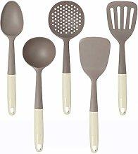 Maxte 5Pcs Nylon Kitchenware Cookware Set Heat
