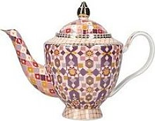 Maxwell & Williams Kasbah Porcelain Teapot With