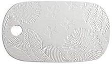 Maxwell & Williams Panama Stoneware Oblong Cheese Platter