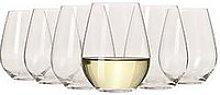 Maxwell & Williams Vino Set Of 6 Stemless White