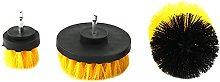 MAYALI 3pcs Eletric Drill Brush Tile Grout Power