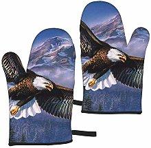 Mayblosom Flying Eagle Oven Mitts,Glove Fashion