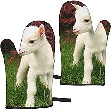Mayblosom Goat Oven Mitts,Glove Fashion Microwave