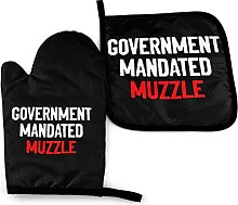 MayBlosom Government mandated Muzzle Oven Mitts