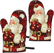 Mayblosom Merry Christmas Santa Claus Oven