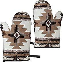 Mayblosom Native American Oven Mitts,Glove Fashion
