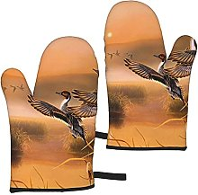 Mayblosom Oil Painting Duck Oven Mitts,Glove