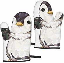 Mayblosom Penguin Oven Mitts,Glove Fashion