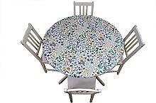 Mayellie Elastic Edged Round Tablecloth | Spring