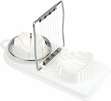 MaylFre Multifunctional Egg Cutter Stainless Steel