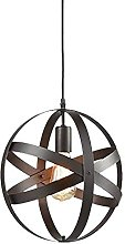 MAZ Chandeliers Simple Wrought Iron Ring Retro