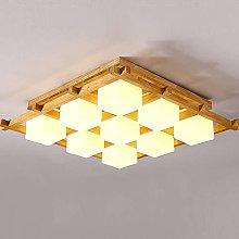 MAZ Flush Mount Square E27 Ceiling Light Lamp