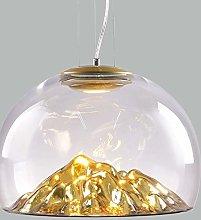 MAZ Glass Chandelier After Modern Nordic Designer