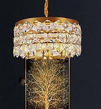 MAZ Malist Bedroom Crystal Lamp Restaurant